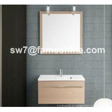 New Design Hot Sale Melamine Bathroom Wall Unit