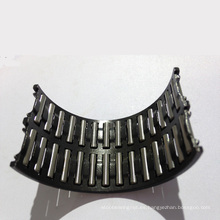 Rodillo de aguja y ensamblajes de jaula Rodamiento de aguja único Split K75X83X48zwd