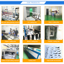 Conveyor belt post-press UV curing machine Oven