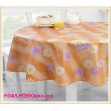 Couverture de table imprimée par PEVA / PVC Ventes chaudes