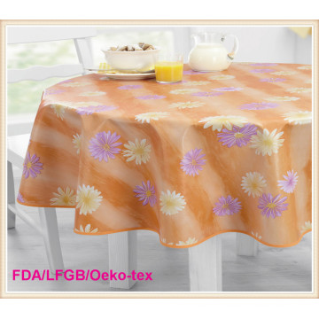 PEVA/PVC Printed Table Cover Hot Sales