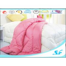 Plain Dyed Pattern and Microfiber Polyester Comforter Duvet Set