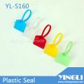 Selo de plástico apertado colorido para marcação