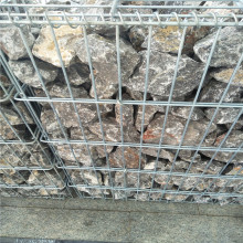 Hot dipped galvanized welded stone gabion cage