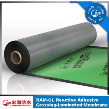 Self Adhesive Waterproof Membrane /HDPE Film Tensile Sticky Felt (ISO)