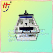 T conical manul slik screen cup printing machine