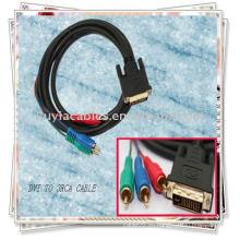Cable DVI a 3 RCA con componente