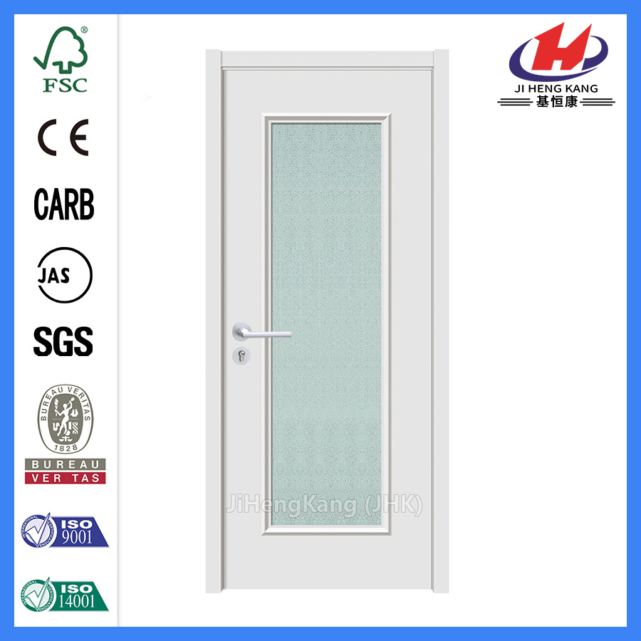 Jhk-G10 1/2 Lite 1 Panel Micro Granite Glass Glass Entrance Door