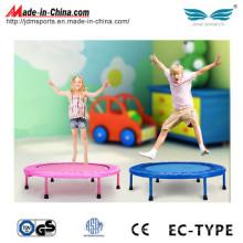 Alta qualidade Kids Pink mini trampolim Whitout Bar à venda