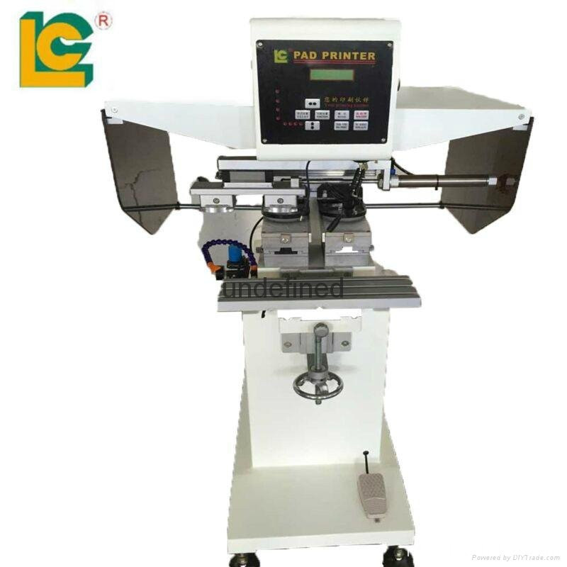 2 Color Tagless Pad Printing Machine
