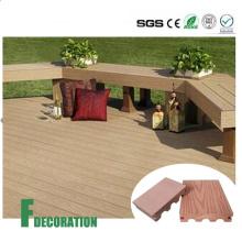 Cladco WPC Plancher en bois composite en plastique pour l'extérieur