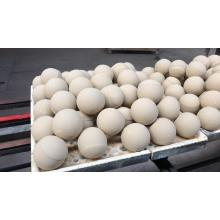 Abrasive alumina ball for ceramics in grinding machine