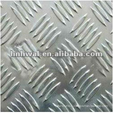 1000 Series Aluminum anti-slip plate 5-bars for kitchen flooring