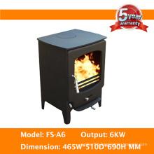 Freestanding Troditional Indoor Cast Iron Solid Fuel Heating Burner