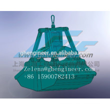 Electric Hydraulic Clamshell Grab for ship crane