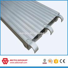 Platelage de terrasse en aluminium pour la construction Ventes chaudes en AMÉRIQUE DU NORD