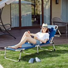 Sillas plegables para adultos sillas de playa cama portátil para acampar para exteriores CR-0113