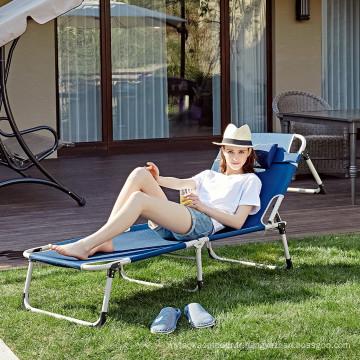 Adultes chaises pliantes chaises de plage portable camping lit pour extérieur CR-0113