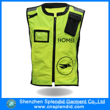 Wholesale Men′s Safety Clothes High Visibility Reflective Vest