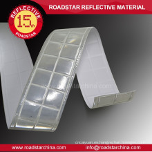 White luminous reflective tape for outdoor safety