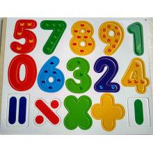 Hölzerne pädagogische Kühlschrank-Magnet-Buchstaben