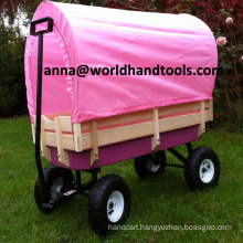Flyer All-Terrain Steel and Wood Wagon with Rubber Tires