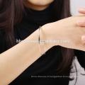 Bijoux Mode Femmes Bracelet Faux Or Avec Multi Couleur Diamant Bracelet Femmes Bracelets En Gros