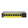 10 / 100M 8 poorten Onbeheerde Ethernet POE-switch