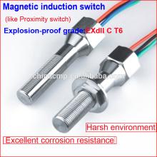 Interruptor flotante a prueba de agua magnético antivandalismo de larga duración, interruptor de límite a prueba de explosiones