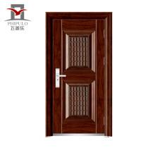 Porta de aço do preço da porta do ferro do exterior 2016cheap