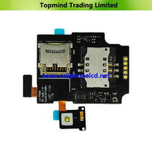 SIM Card Slot Tray Holder Flex Cable for LG P920