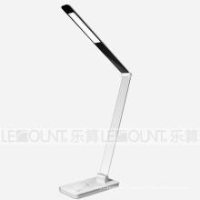 Алюминиевая светодиодная защитная настольная лампа с беспроводной функцией зарядки (LTB107W)