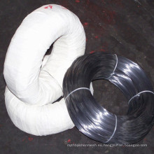 Anping China precio bajo hierro negro vinculante alambre / alambre recocido negro