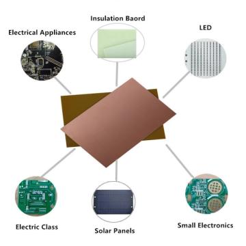 Carte PCB de feuille stratifiée plaquée de cuivre de Xpc