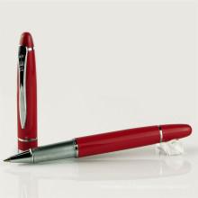 Novo Design DIY Metal e caneta de esferográfica de madeira