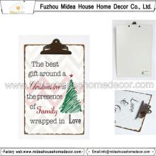 Kundenspezifische Zwischenablage für Weihnachtsgeschenk