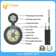 Gutes Qualitätsnetzwerk-Kabel GYXTC8S gepanzertes im Freien optisches Faserkabel gebildet in China