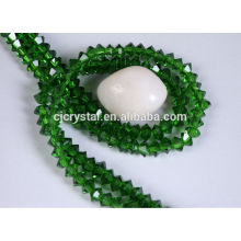 loose faceted bead flying saucer glass beads
