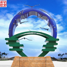 2016 New Modern Sculpture High Quality Fashion Urban Statue Successful Case Garden Decoration