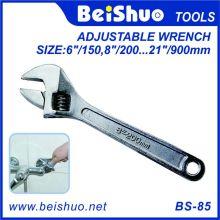 Multi-Size Carbon Steel Allgemein Flexibler Einstellschlüssel / Schraubenschlüssel