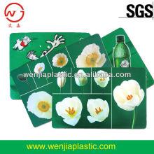 Plastic table mat placemat
