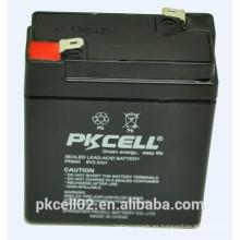 Batería de plomo sellada 6V 2.0Ah para UPS, AGM, energía de respaldo y otros equipos de iluminación