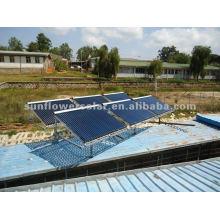 2014 nuevo colector solar del tubo de calor para el uso del proyecto