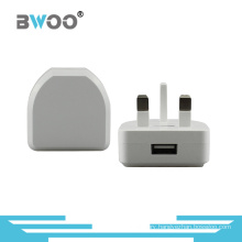 Single USB Travel Charger Power Charger with UK Plug