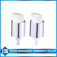 20mm Aluminum Coating Cosmetic Cream Sprayer Pump with Cap