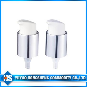 20mm Aluminium Beschichtung Kosmetik Creme Sprayer Pumpe mit Cap