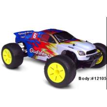 Control remoto de alta velocidad del coche profesional del diseño RC con Nitro