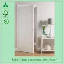 Puerta de madera rasante estilo europeo