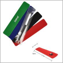 Bolsas de regalo de bolsa de terciopelo barato para el sistema de la pluma, negro mate del regalo