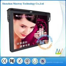 haut de 19 pouces LCD HD publicité bus lecteur de montage